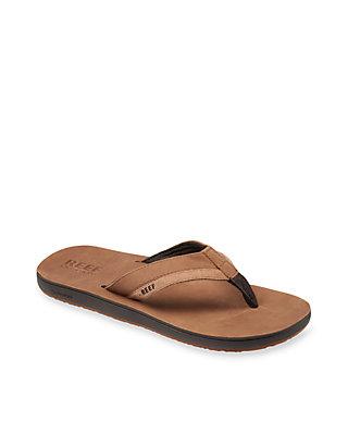 Reef Leather Contoured Cushion Shoe