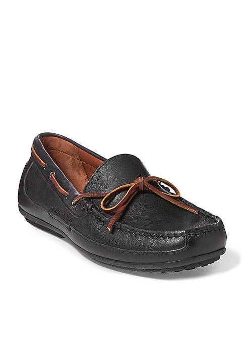 Ralph Lauren Roberts Black Loafers