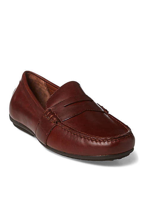 Ralph Lauren Reynold Tan Loafers