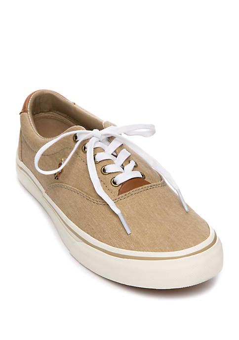 Polo Ralph Lauren Thorton Canvas Low Top Sneakers