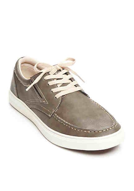 CRUZ OxfordsShoes Woman Buff Blue Leather 11 US  41 EU  Buff  PJQPGJK4T