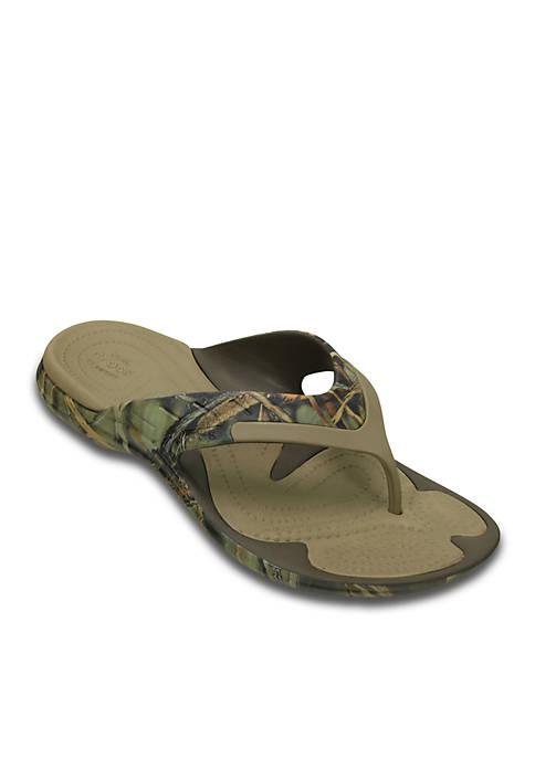 Crocs Modi Sport Realtree Max 4 Flip Flop Belk