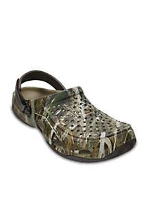 Crocs Swiftwater Deck Realtree Max-5 Slip-On