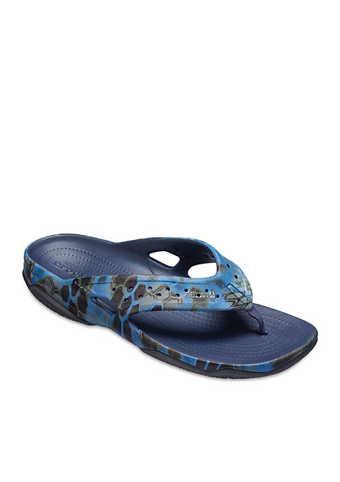 Crocs Swiftwater Kryptek® Neptune Deck Flip Flop