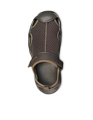 a8ac5b4639 ... Crocs Swiftwater Mesh Deck Sandals ...