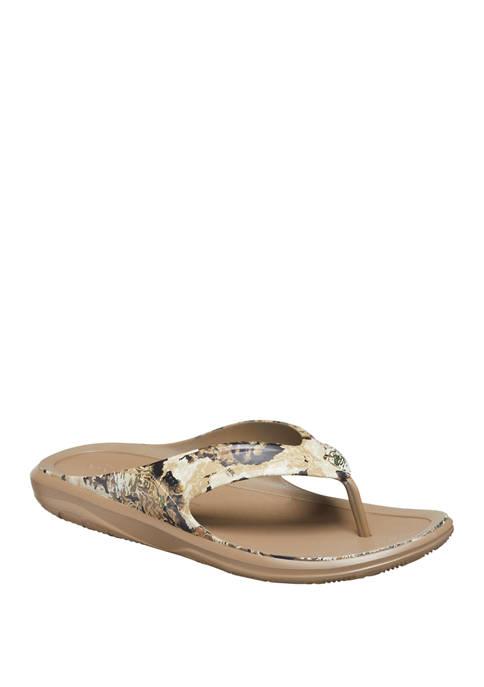 Crocs Swiftwater Wave Flip Flop Sandals