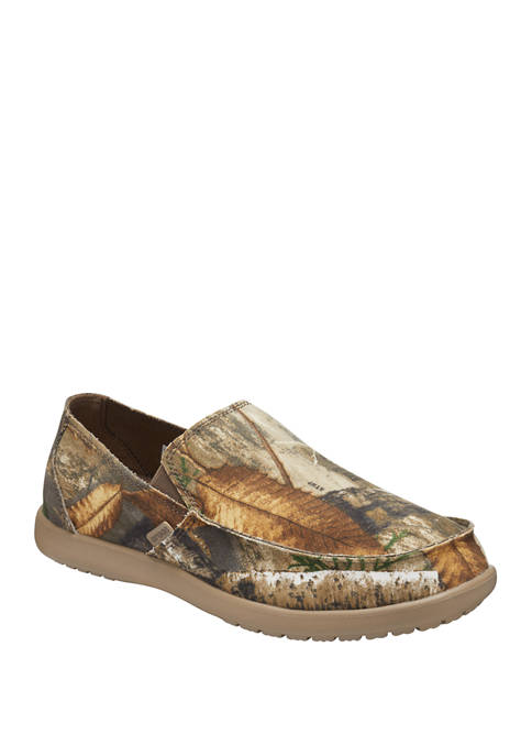 Crocs Santacruz Realtree Edge Slip On Loafers