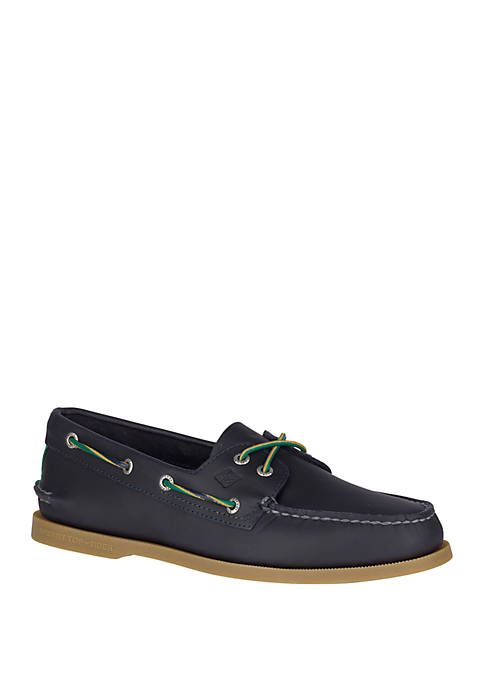Authentic Original A/O Varsity Boat Shoes