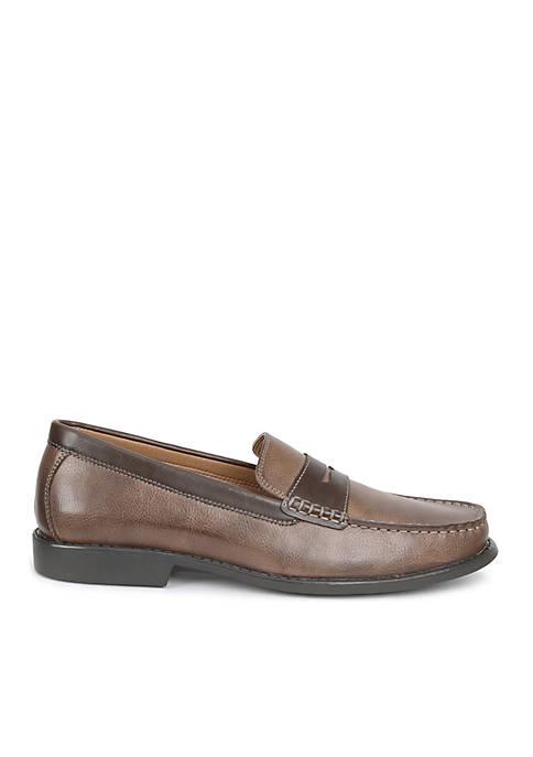 IZOD Edmund Two-Tone Loafers