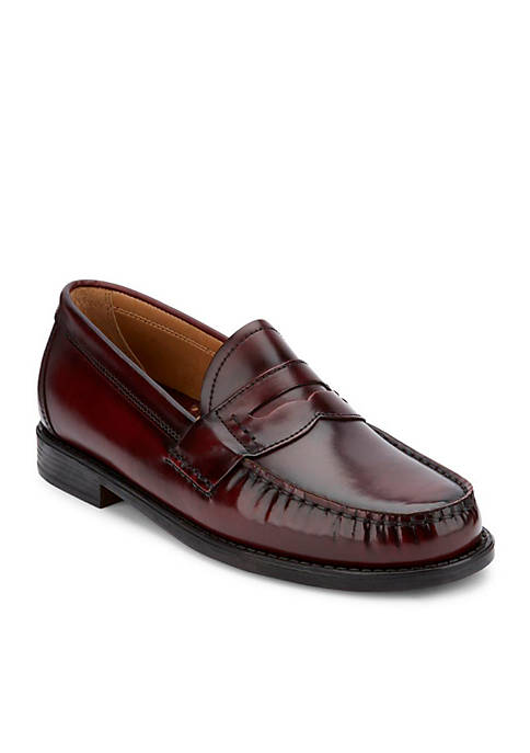 G.H. Bass & Co. Wagner Black Burgundy Loafers