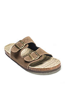MUK LUKS® Parker Duo Strapped Sandals