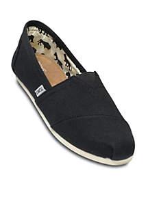 Black Canvas Mens Classics Shoe