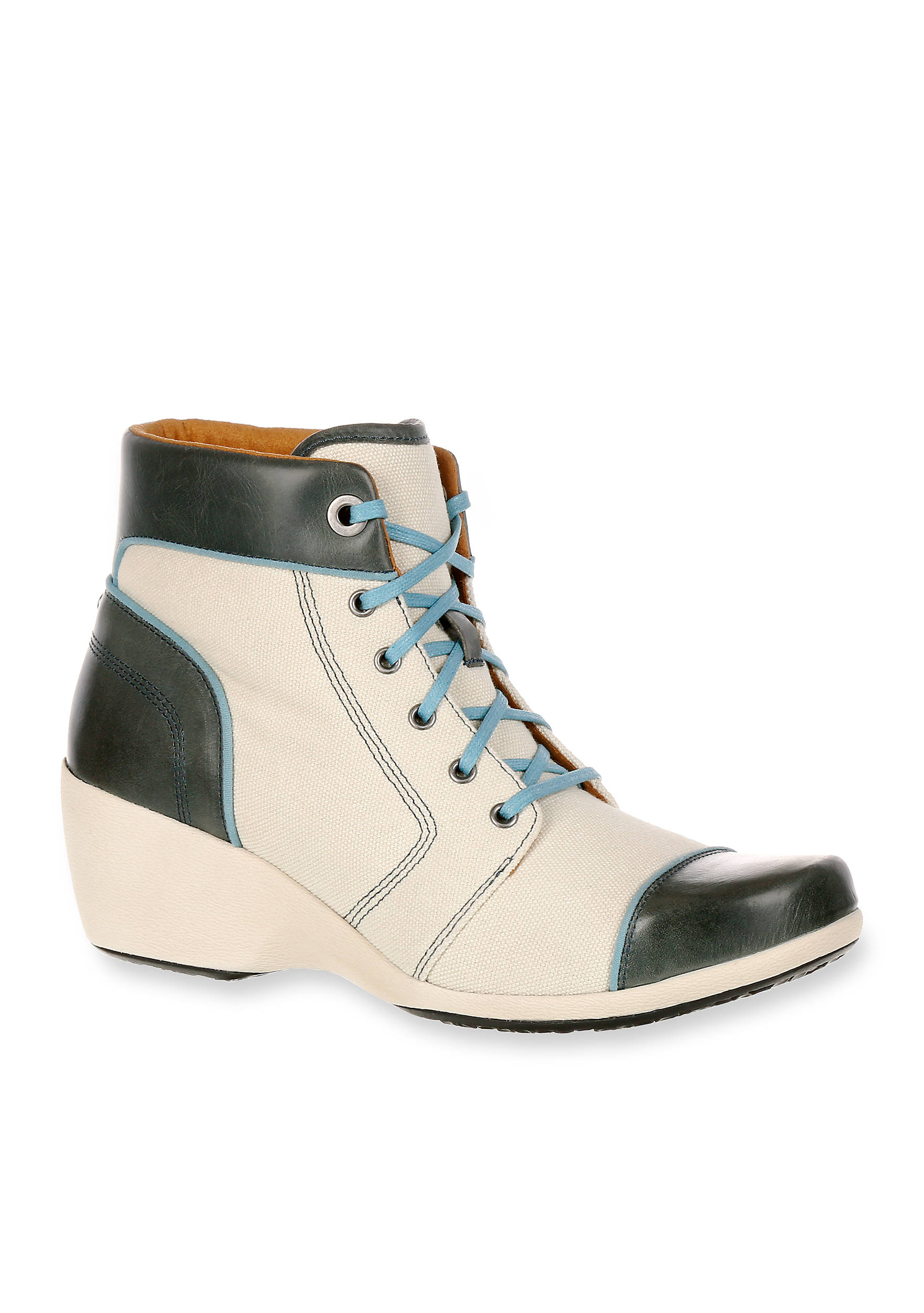Rocky 4EurSole™ Forte Women's High Wedge Lacer Boot n83Cao
