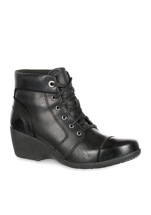 Rocky 4EurSole™ Forte Womens High Wedge Lacer Boot