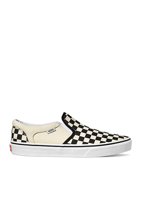 Asher Checkerboard Slip On