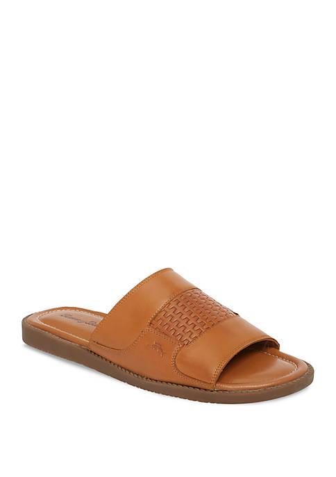 Gennadi Palms Slide Sandals