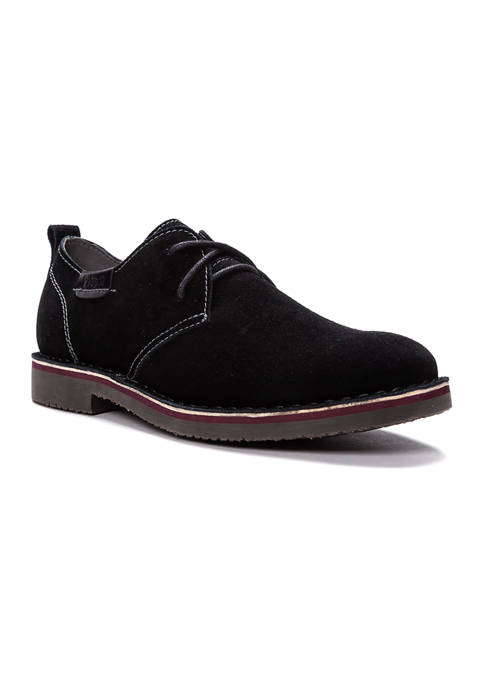 Propét Finn Oxford Suede Shoes