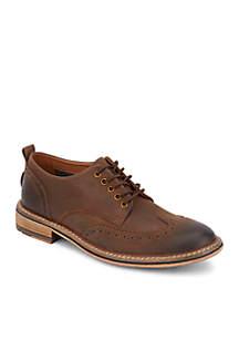 LUCKY BRAND FOOTWEAR Dark Brown Hudson Oxford