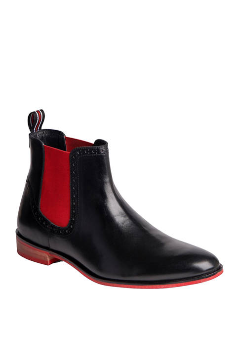 Carlos by Carlos Santana Mantra Leather Chelsea Boots