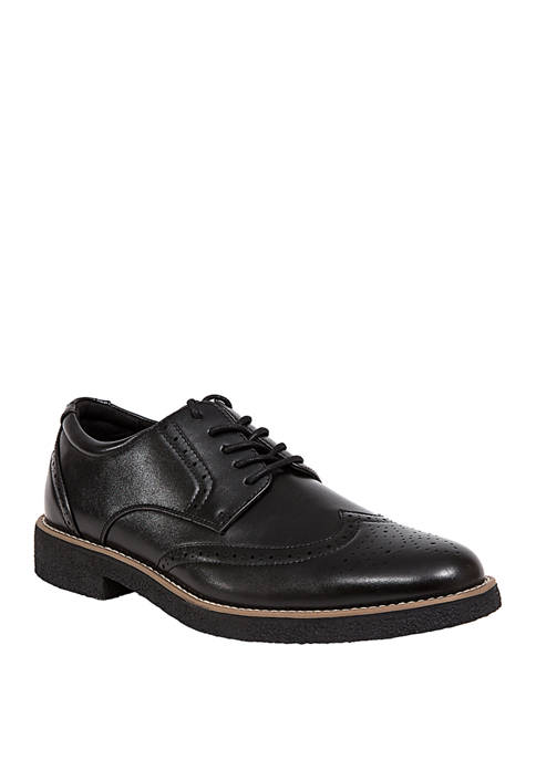 Deer Stags Creston Memory Foam Wingtip Oxford Shoes