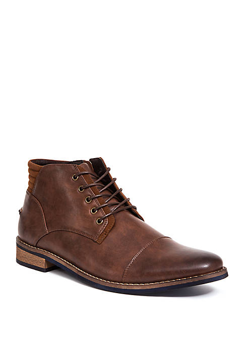 Deer Stags Rhodes Cap Toe Chukka Boots