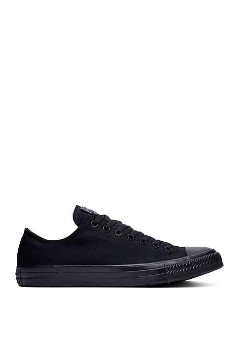 Chuck Taylor All Star Low Top Black Monochrome Sneaker