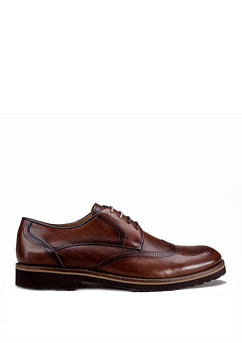 Dress Casual Wingtip Lace Up Shoes