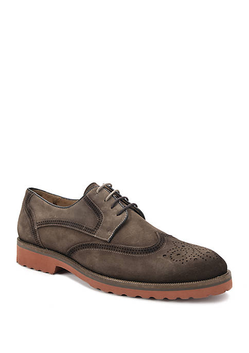 Belvedere Casual Wing Tip Lace Up Shoes
