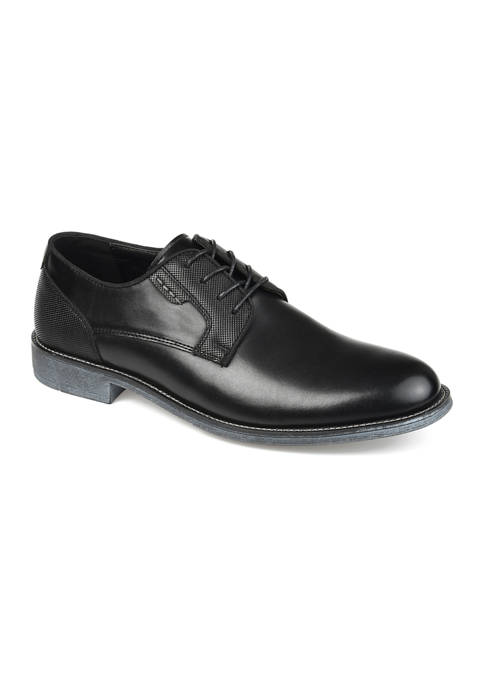 Journee Collection Alston Plain Toe Derby Shoes