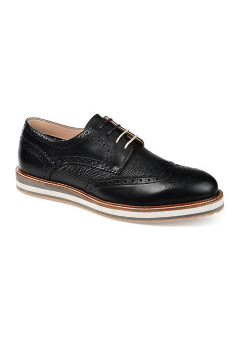 Journee Collection Conrad Wingtip Derby Shoes