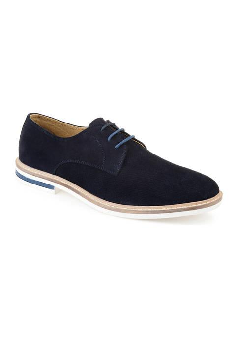 Journee Collection Garison Plain Toe Derby Shoes