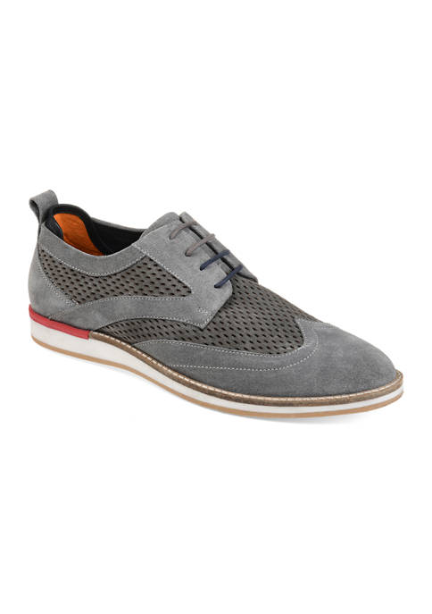 Journee Collection Jett Wingtip Derby Shoes