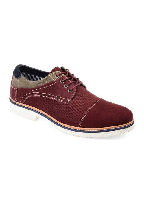 Journee Collection Kingston Cap Toe Derby Shoes