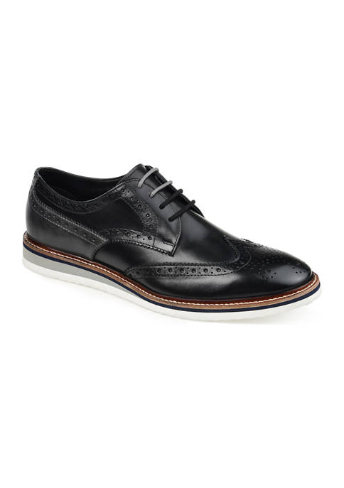 Journee Collection Ridley Wingtip Derby Shoes