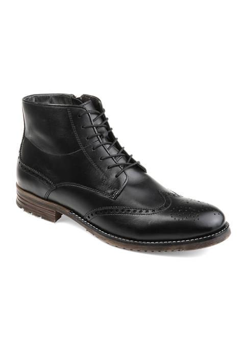 Journee Collection Ryker Wide Width Wingtip Boots