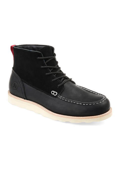Journee Collection Spartan Moc Toe Boots