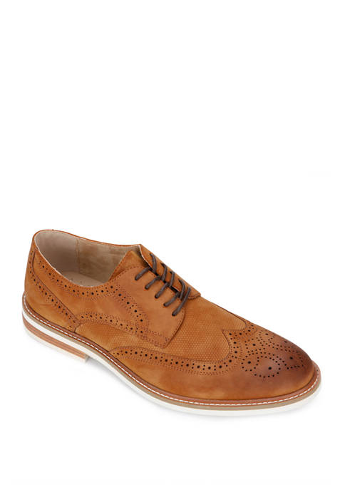 Kenneth Cole Jimmie Lace Up Wingtip Shoes