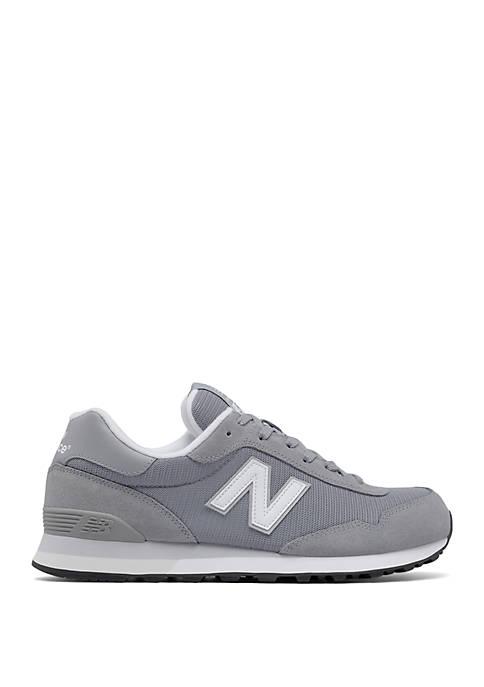 New Balance Mens 515 Training Shoe Steel/ White
