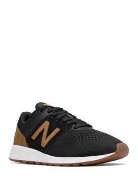 New Balance Men's 24 Black and Tan Sneaker | belk