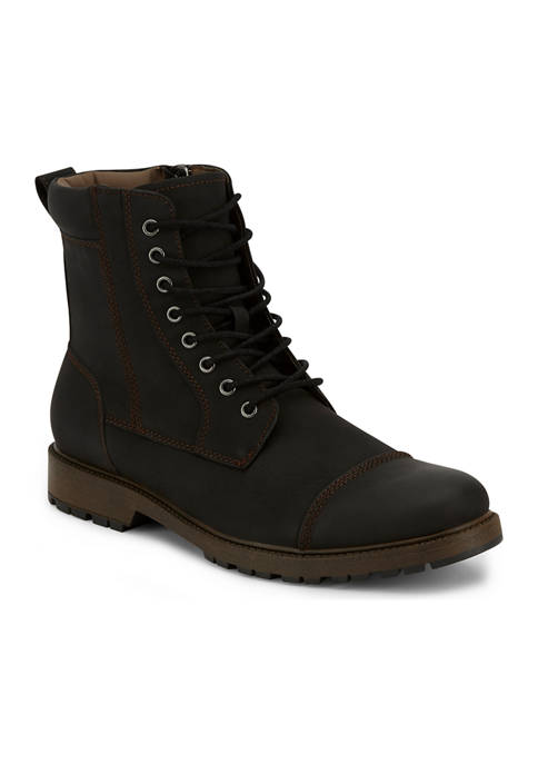 Dockers® Mens Stratton Rugged Cap Toe Boots