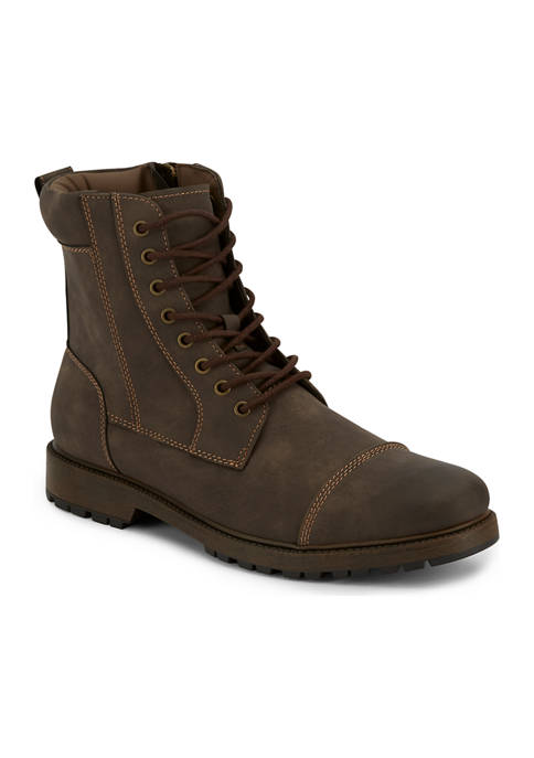 Dockers® Stratton Rugged Cap Toe Boots