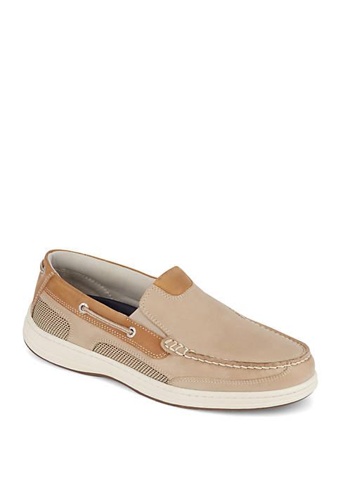 Dockers® Tiller Leather Casual Slip On Loafer Boat