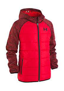 Under Armour® Toddler Boys Day Trekker Hooded Hybrid Jacket