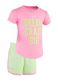 Under Armour® 2-Piece 'Dream Crazy Big' Shirt and Short Set