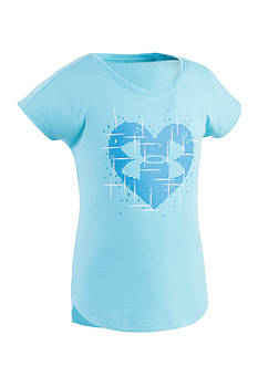Under Armour® Heart Graphic Top Toddler Girls