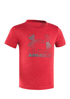 Under Armour® Hybrid Big Logo Tee Toddler Boys