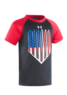 Under Armour® American Batter Raglan Tee Toddler Boys