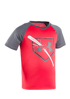 Under Armour® Breaking Bat Raglan Tee Toddler Boys