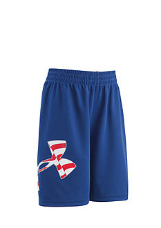Under Armour® Big Logo Americana Short Toddler Boys
