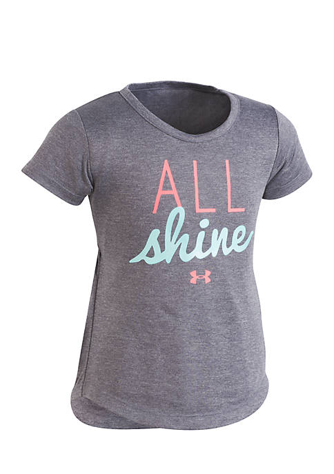 Under Armour® All Shine Tee Shirt Toddler Girls